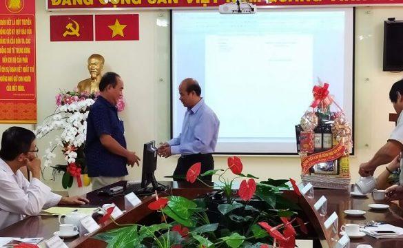 Bệnh viện Lao và Bệnh Phổi tỉnh Tây Ninh đến thăm và chúc Tết Ban Lãnh Đạo của Bệnh viện Phạm Ngọc Thạch