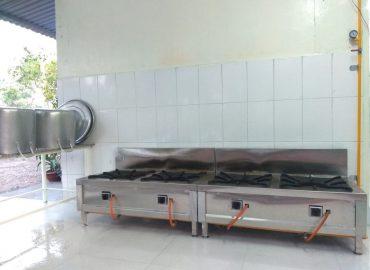 Bếp ăn từ thiện tại Bệnh viện Phạm Ngọc Thạch