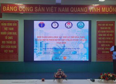 Hội nghị khoa học kỹ thuật thường niên Lao và bệnh phổi bệnh viện Phạm Ngọc Thạch năm 2020