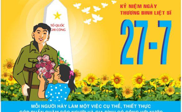 Họp mặt kỷ niệm 72 năm ngày Thương Binh Liệt Sĩ Việt Nam