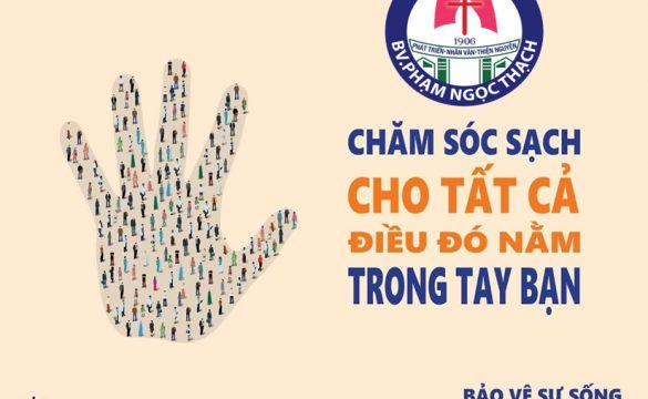 HƯỞNG ỨNG  NGÀY VỆ SINH TAY TOÀN CẦU 05/5/2019